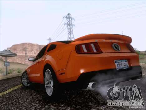 Ford Shelby Mustang GT500 2010 for GTA San Andreas left view