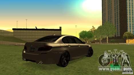 Speedometer of Lada 2110 for GTA San Andreas third screenshot