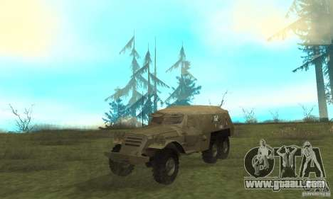 BTR-152 for GTA San Andreas left view