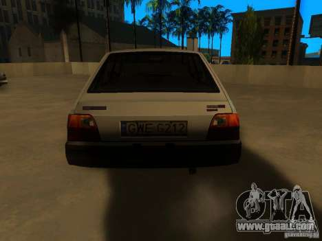 FSO Polonez Caro for GTA San Andreas back left view