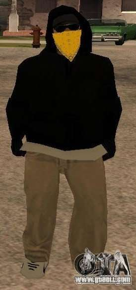 New skins Vagos Gang for GTA San Andreas third screenshot