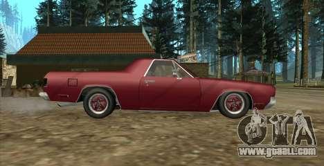 Eon SabreTaur Picador for GTA San Andreas back left view