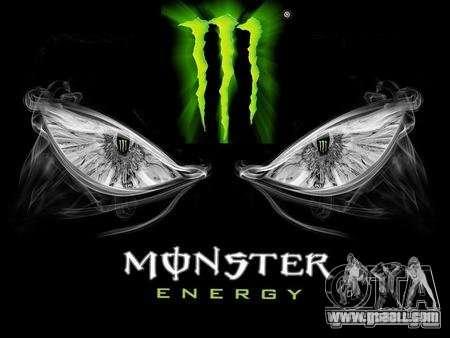 Boot screen Monster Energy for GTA San Andreas second screenshot
