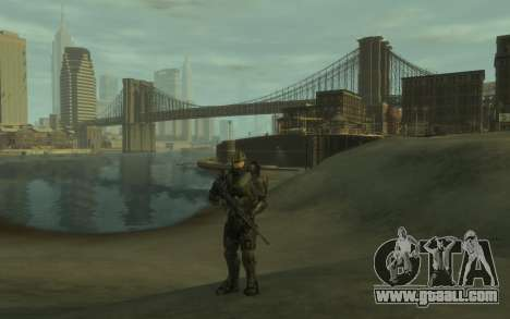 Halo 4 Master Chief for GTA 4 second screenshot