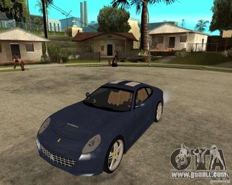 Ferrari 612 Kappa for GTA San Andreas