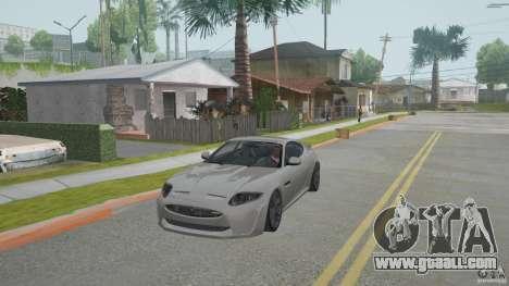Jaguar XKR-S for GTA San Andreas left view