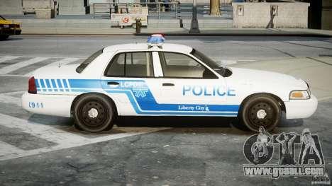 Ford Crown Victoria CVPI-V4.4M [ELS] for GTA 4 back view
