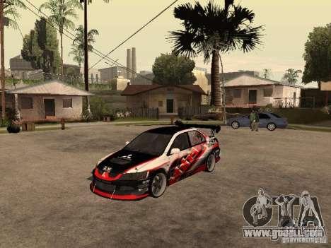 Mitsubishi Lancer Evolution 8 GReddy for GTA San Andreas