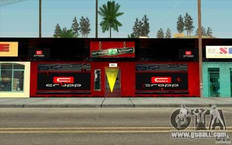 Cropp Town SHOP for GTA San Andreas