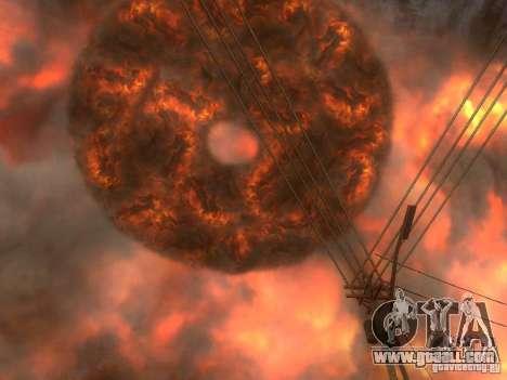 Atomic Bomb for GTA San Andreas third screenshot