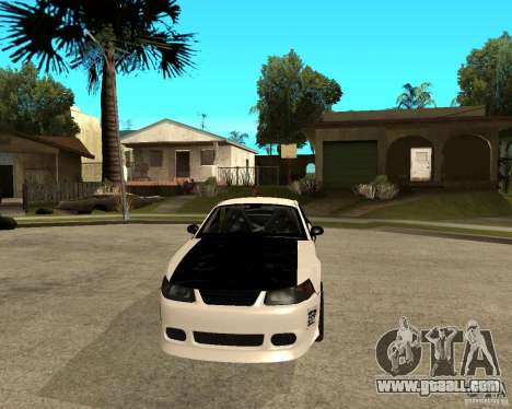 2003 Ford Mustang GT Street Drag for GTA San Andreas back view