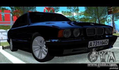 BMW E34 V1.0 for GTA San Andreas
