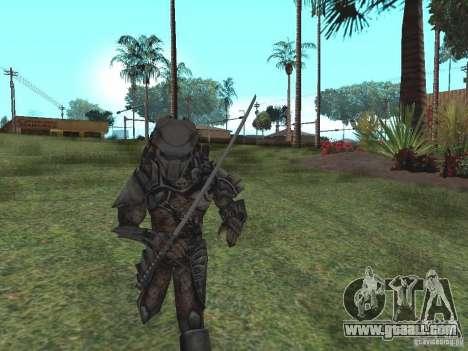 Predator for GTA San Andreas second screenshot