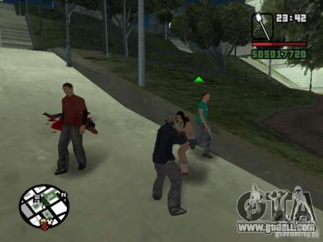 Toilet Brush for GTA San Andreas third screenshot