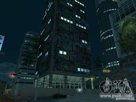 New textures skyscrapers LS for GTA San Andreas tenth screenshot