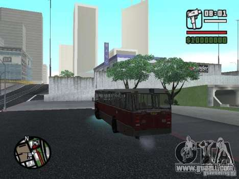 DAF CSA 1 City Bus for GTA San Andreas inner view