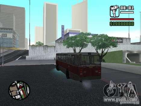 DAF CSA 1 City Bus for GTA San Andreas inner view