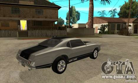 Sabre from GTA 4 for GTA San Andreas right view