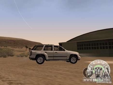 Chevrolet Trail Blazer for GTA San Andreas left view