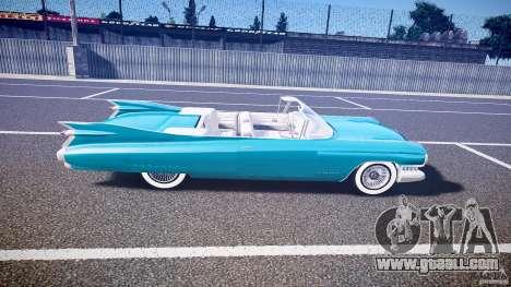 Cadillac Eldorado 1959 interior white for GTA 4 side view