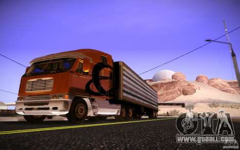 Freightliner Argosy for GTA San Andreas