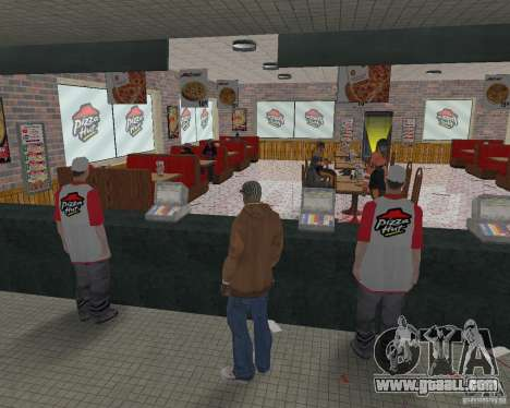New textures of eateries and shops for GTA San Andreas twelth screenshot