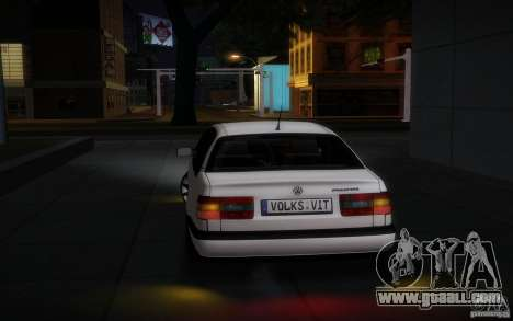 Volkswagen Passat B4 for GTA San Andreas right view