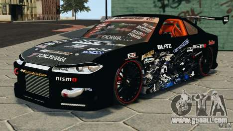 Nissan Silvia S15 HKS for GTA 4