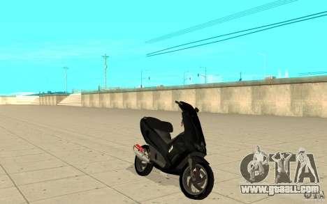 Gilera Runner 50SP Skin 2 for GTA San Andreas