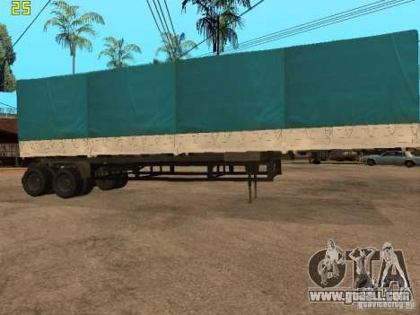 Nefaz 93344 trailer for GTA San Andreas left view