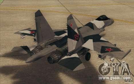 Su-35 BM v2.0 for GTA San Andreas right view