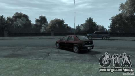 RENAULT LOGAN for GTA 4 back left view