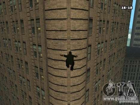 Parkour Mod for GTA San Andreas sixth screenshot
