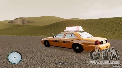 Ford Crown Victoria 2003 NYC Taxi for GTA 4 left view