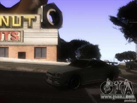 Enb from GTA IV for GTA San Andreas fifth screenshot