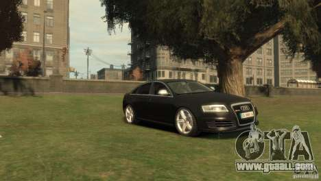 Audi RS6 v.1.1 for GTA 4 right view