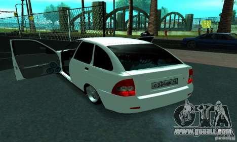 Lada Priora Sport for GTA San Andreas side view