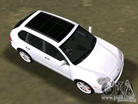Porsche Cayenne Turbo S for GTA Vice City back left view
