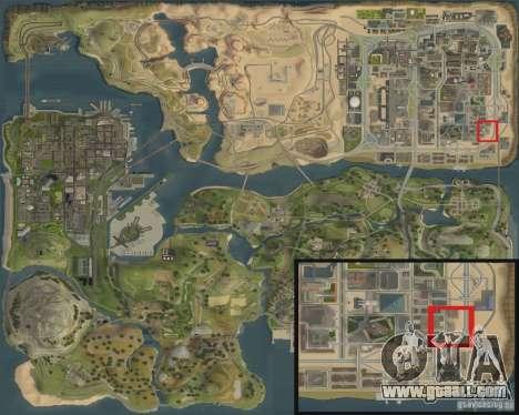 New Shell gas station for GTA San Andreas sixth screenshot