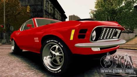 Ford Mustang BOSS 429 for GTA 4