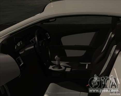 Aston Martin DBS 2009 for GTA San Andreas right view