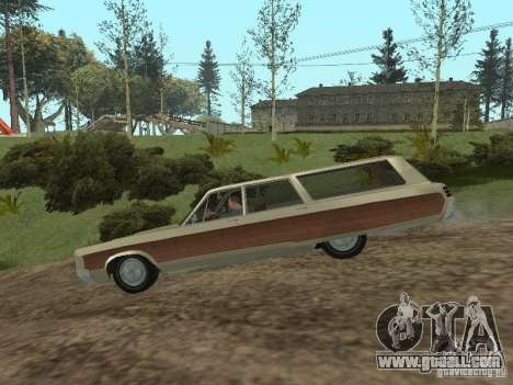 Chrysler Town and Country 1967 for GTA San Andreas back left view