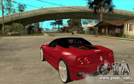 Ferrari 360 Spider for GTA San Andreas