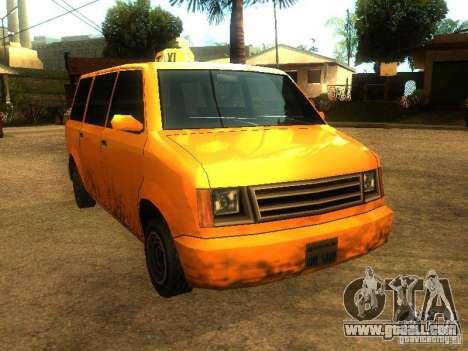 Taxi Moonbeam for GTA San Andreas