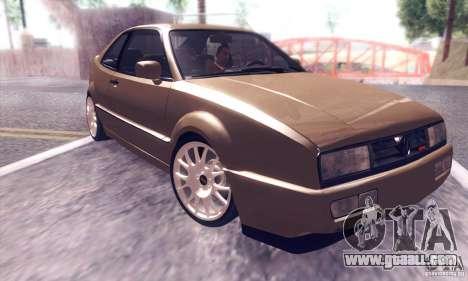 Volkswagen Corrado for GTA San Andreas inner view