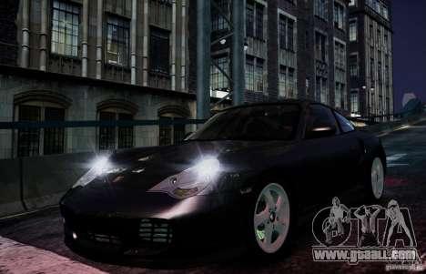 Porsche 911 Turbo S for GTA 4 inner view