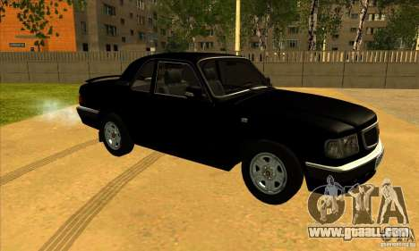 Volga GAZ 3110 sedan for GTA San Andreas left view