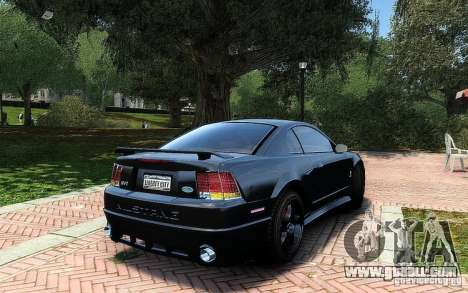 Ford Mustang Cobra R for GTA 4 inner view