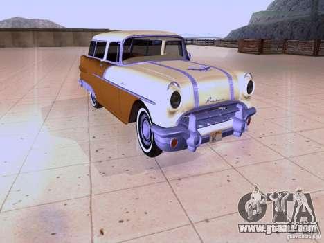 Pontiac Safari 1956 for GTA San Andreas left view