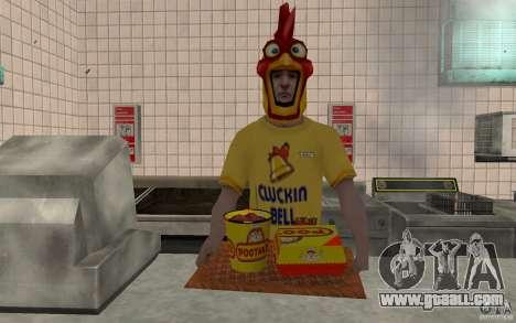 Cafe Rostics for GTA San Andreas third screenshot